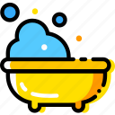 baby, bath, child, toy, yellow icon