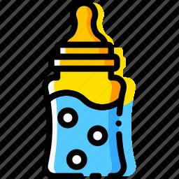baby, child, feeder, toy, yellow icon