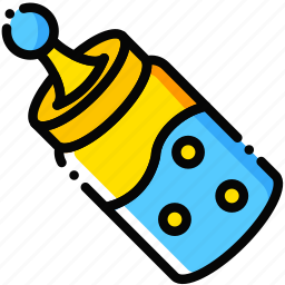 baby, child, feeder, toy, yellow icon