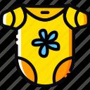 girl, toy, bodywear, yellow, child
