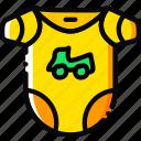 boy, toy, bodywear, yellow, child