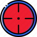 target, army, soldier, military, badge, war icon