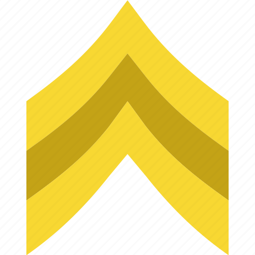 Army, badge, military, sergeant, soldier, war icon - Download on Iconfinder