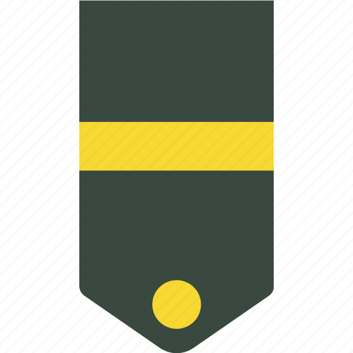 Army, rank, soldier, military, badge, war icon