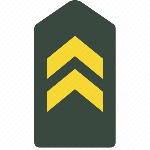 Army, badge, military, rank, soldier, war icon - Download on Iconfinder