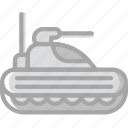 army, badge, military, soldier, tank, war icon