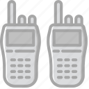 army, badge, military, soldier, talkie, walkie, war icon