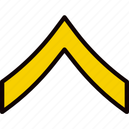 army, badge, military, private, soldier, war icon