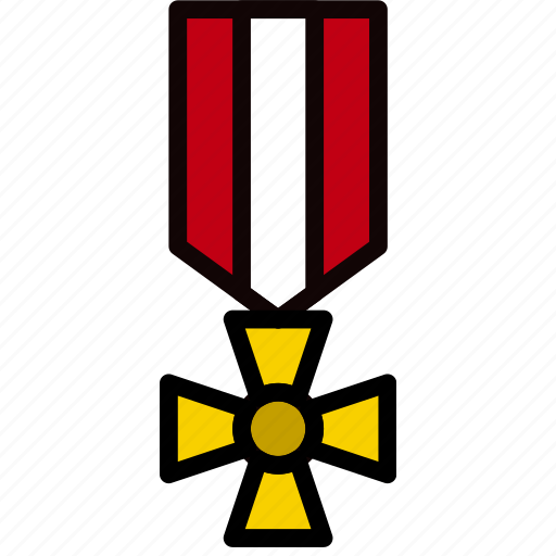 army, badge, medal, military, soldier, war icon