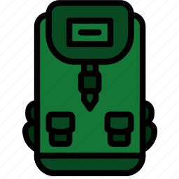 army, backpack, badge, military, soldier, war icon