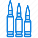 army, badge, bullets, military, soldier, war icon