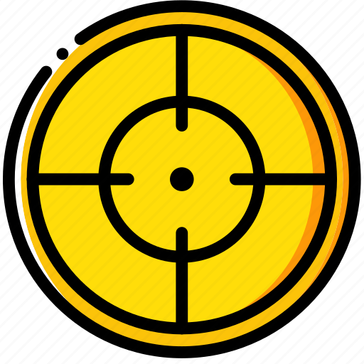 army, badge, military, soldier, target, war icon