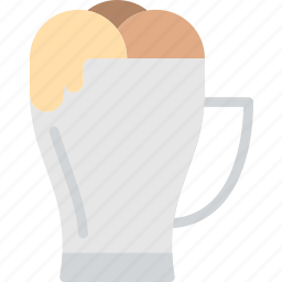 coffee, frappe, ice, mug, shop icon