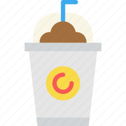 coffee, drink, frappe, ice, shop icon
