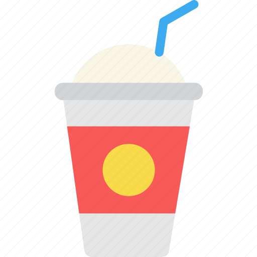 coffee, drink, ice, milkshake, shop, sweet icon
