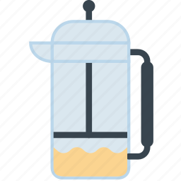 coffee, drink, hot, infuser, shop, tea icon