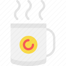 coffee, cup, drink, hot, shop icon