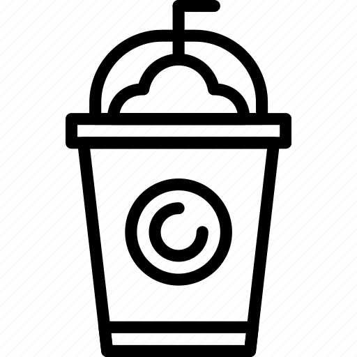 Coffee, drink, frappe, ice, shop icon - Download on Iconfinder