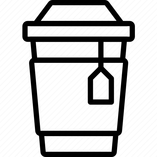 coffee, cup, drink, hot, shop, tea icon