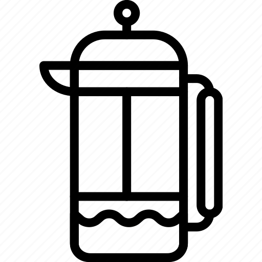 coffee, drink, hot, infuser, shop, tea icon