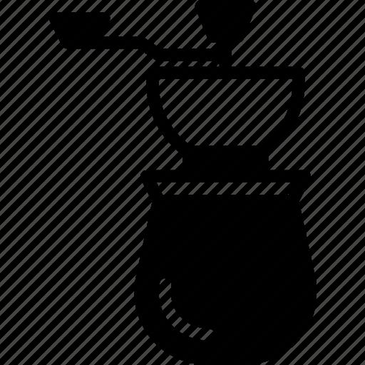 coffee, cup, drink, grinder, shop icon