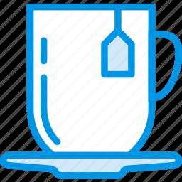 coffee, drink, hot, mug, shop, tea icon