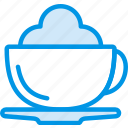 cappucino, coffee, drink, hot, shop icon