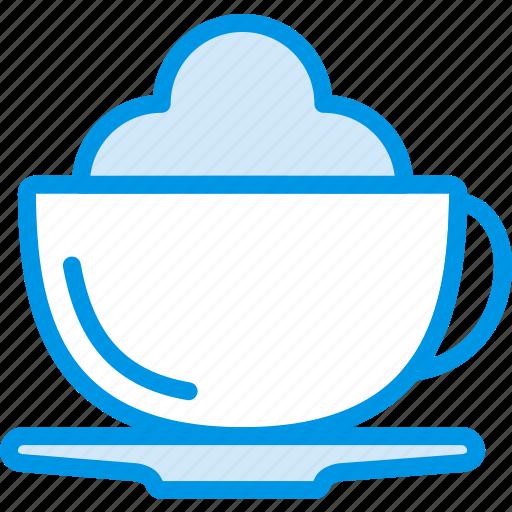 cappucino, coffee, drink, hot, shop icon