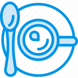 coffee, cup, drink, hot, shop, spoon icon