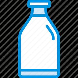coffee, cold, drink, milk, shop icon