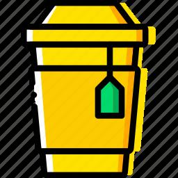 coffee, cup, drink, hot, shop, tea icon