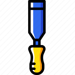 building, chisel, construction, tool, work icon