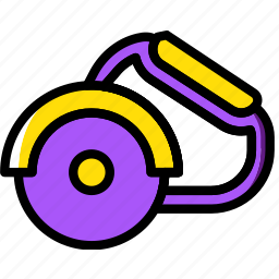 building, circular, construction, saw, tool, work icon
