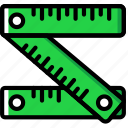 building, carpenter, construction, ruler, tool, work icon