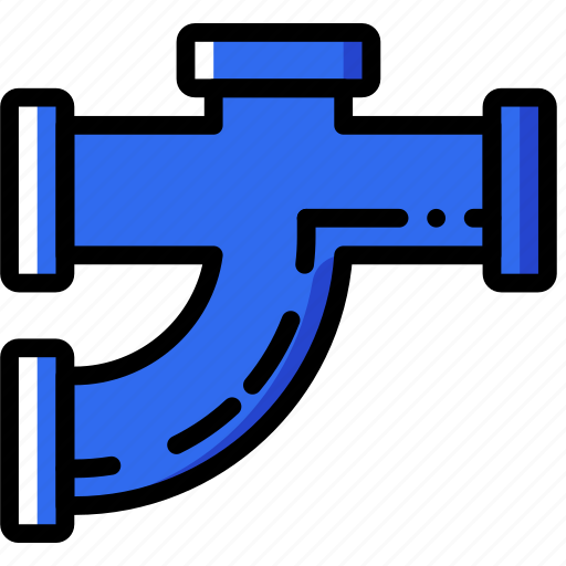 building, construction, curved, pipe, tool, work icon