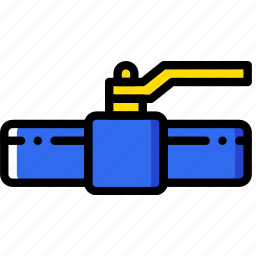 building, construction, tool, valve, work icon
