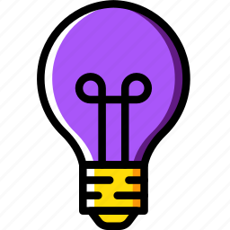 building, bulb, construction, tool, work icon