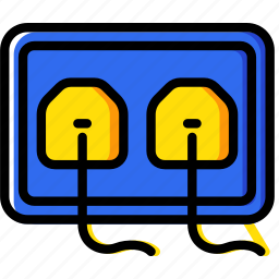 building, construction, plug, socket, tool, work icon