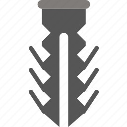anchor, building, construction, tool, wall, work icon
