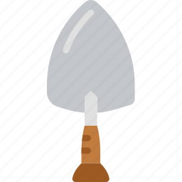 brick, building, construction, tool, trowel, work icon