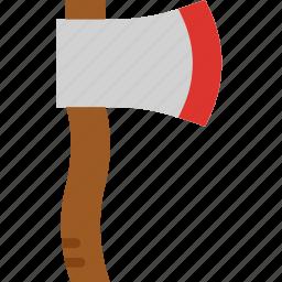 axe, building, construction, tool, work icon