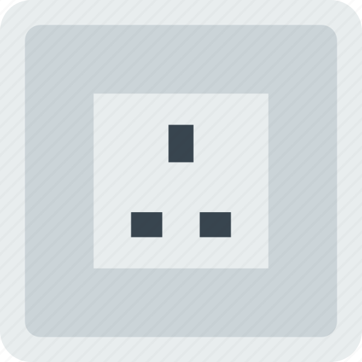 building, construction, socket, tool, uk, work icon