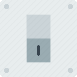 building, construction, on, switch, tool, work icon