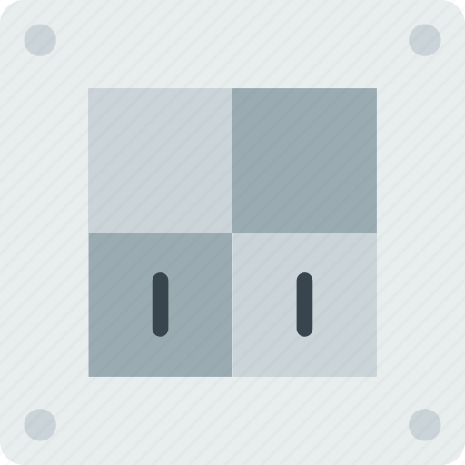 building, construction, dobule, on, switch, tool, work icon
