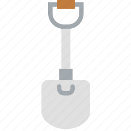 building, construction, shovel, tool, work icon