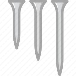 building, construction, nails, tool, work icon