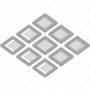 building, construction, tiled, tool, work icon