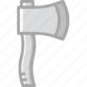 axe, building, construction, tool, work icon