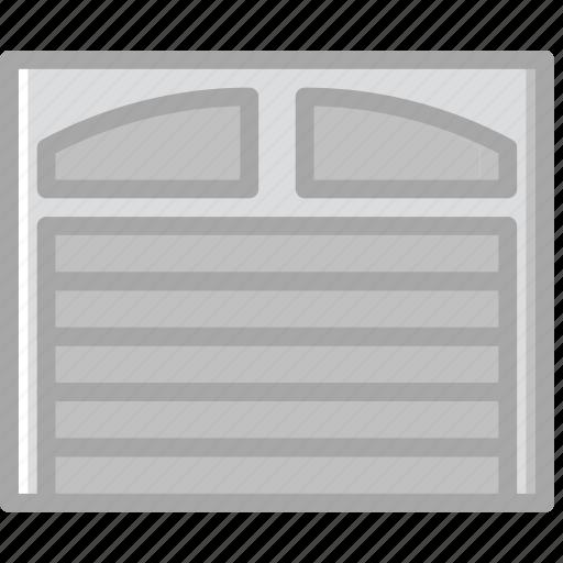 building, construction, door, garage, tool, work icon
