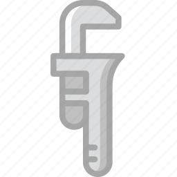 building, construction, pipe, tool, work, wrench icon